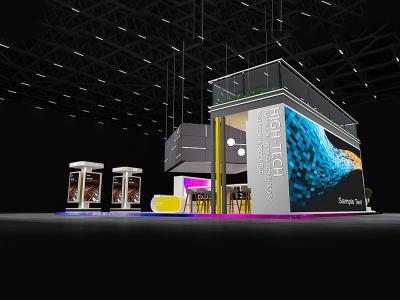 厦门展台设计搭建选择开放度哪种形式好