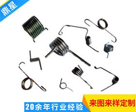 螺旋拉伸异型弹簧-电池扭力弹簧