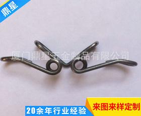 双扭异形蝶形簧 电镀镀镍双扭异形簧 不锈钢压缩弹簧