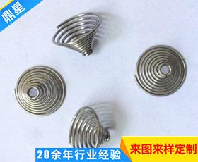 不锈钢限流弹簧定制异型涡卷弹簧 精密小弹簧