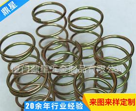 高品质不锈钢圧缩弹簧 机械设备标准件压缩弹簧