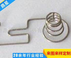 高端精密电池弹簧 精密异型电池簧 弯管螺旋塔形弹簧