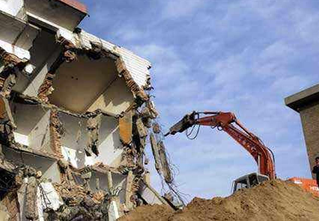 建筑工程厂房拆除