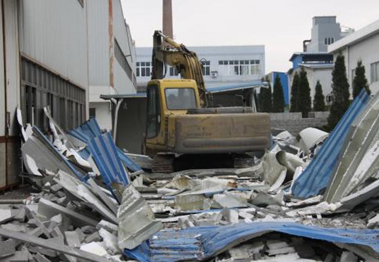 废旧厂房拆除回收