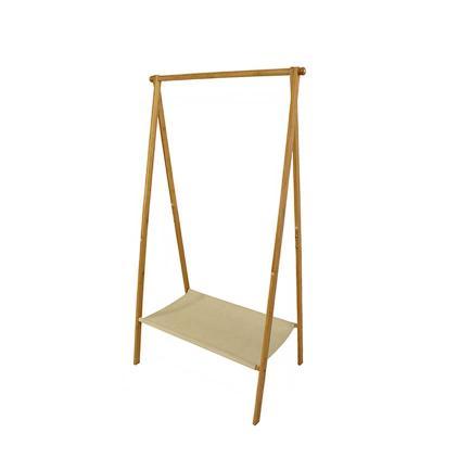 A Frame Bamboo Garment Rack