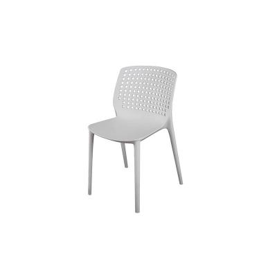 Plastic Kitchen and Dining Room Chair, Stackable (A)