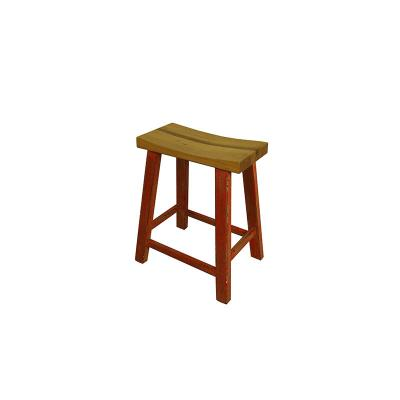 Wooden Bar Chair (A)