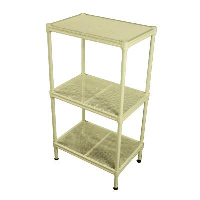 3 Tiers Metal Shelves, Storage Rack
