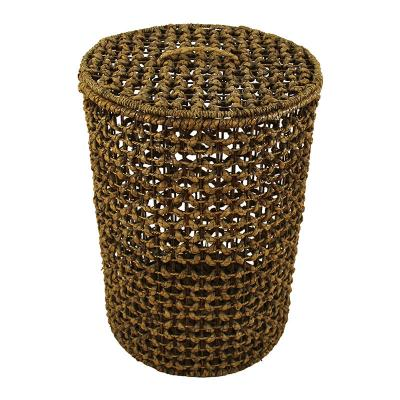 Water Hyacinth Laundry Hamper Basket
