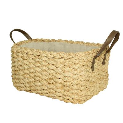 Woven Storage Basket with Handle