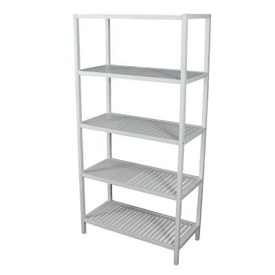 Wood 5-Tier Compact Multipurpose Shelf