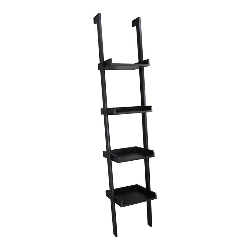 Portable Ladder Shelf, Ladder Leaning Display Shelf