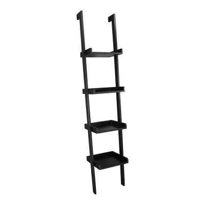 Portable Ladder Shelf, Ladder Leaning Display Shelf
