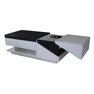Black and White High Gloss lacquer coffee table (B)