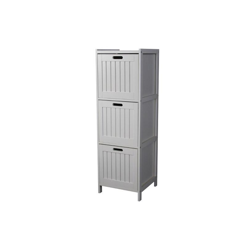 White 3-Tier Storage