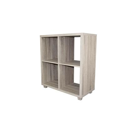 4 Section Hollowcore Cube Organizer-Weathered Brown